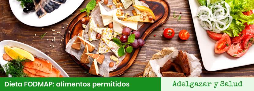 alimentos permitidos dieta FODMAP