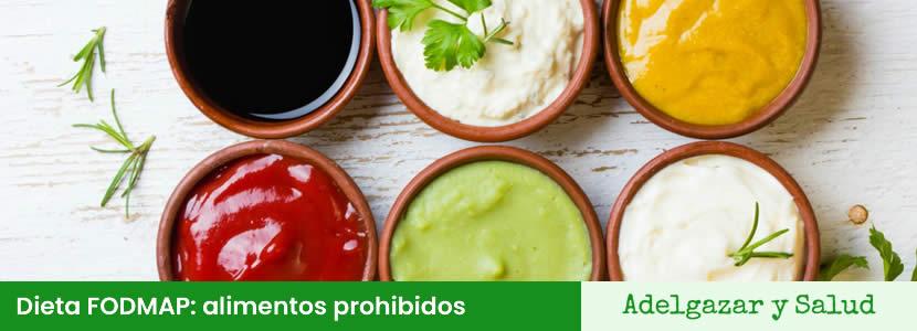 alimentos prohibidos dieta FODMAP