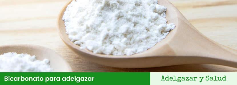 Bicarbonato para adelgazar