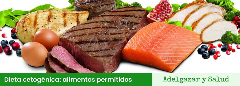 dieta cetogénica alimentos permitidos