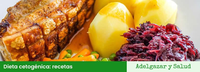 dieta cetogénica recetas