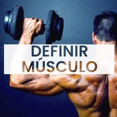 dieta definir musculo