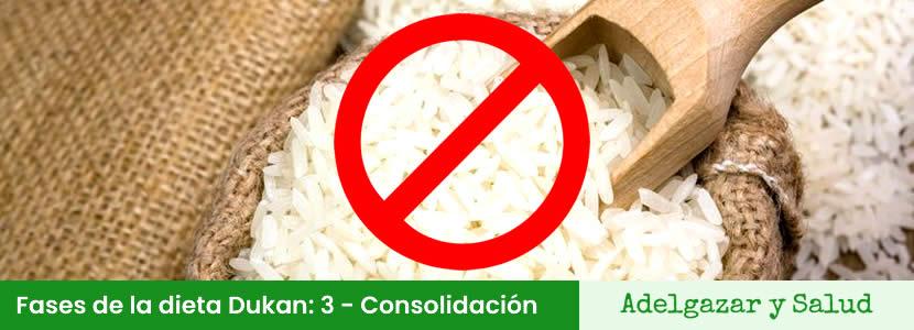 dieta dukan fase 3 consolidacion