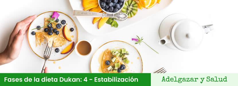 dieta dukan fase 4 estabilizacion