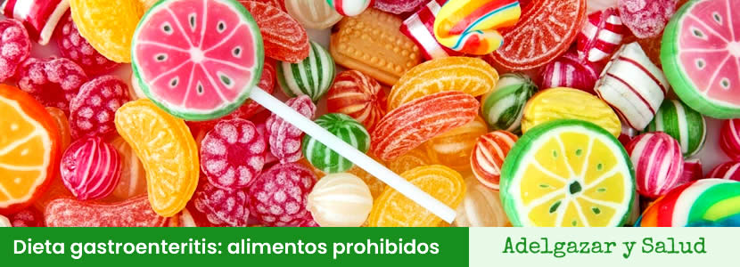 Dieta gastroenteritis alimentos prohibidos