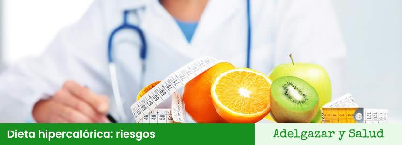 dieta hipercalorica riesgos