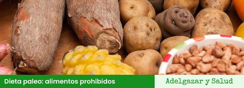 dieta paleo alimentos prohibidos