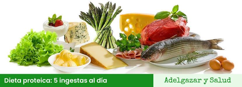 dieta proteica bajar peso