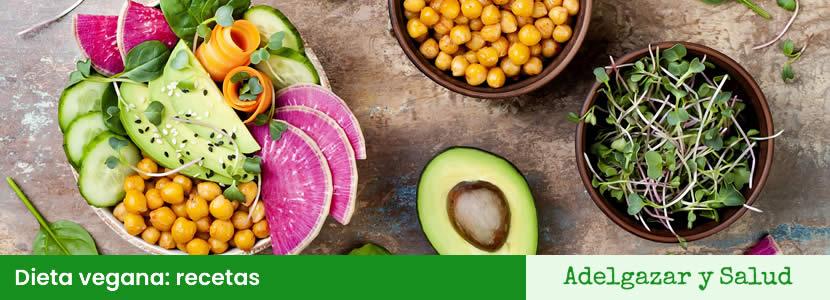 dieta vegana recetas