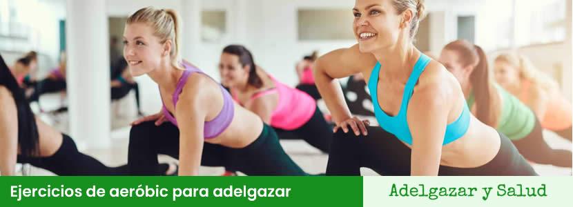 ejercicios de aerobic para adelgazar