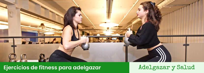 ejercicios fitness para adelgazar