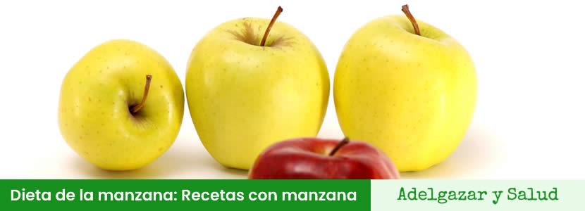 recetas de la dieta de la manzana