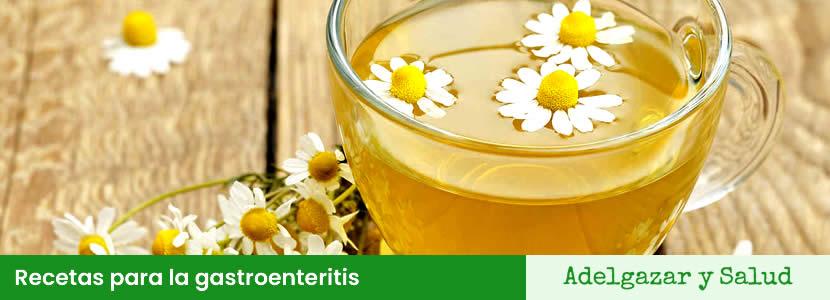 Recetas para la gastroenteritis