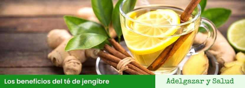 El té de jengibre tiene muchos beneficios para el organismo