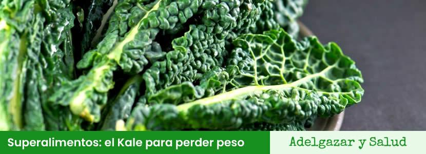 superalimentos kale para perder peso