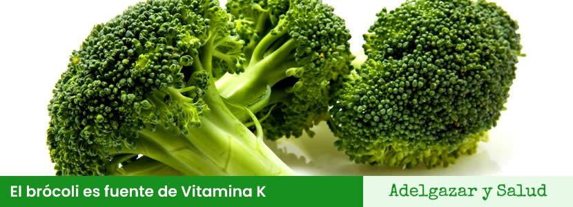 vitamina k brocoli