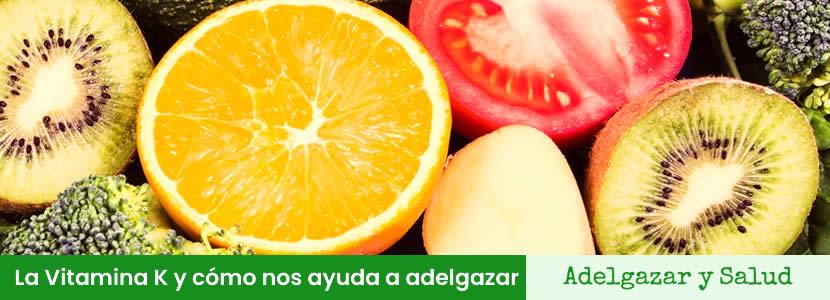 vitamina k para adelgazar