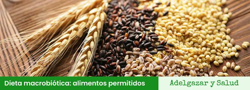 Dieta macrobiótica alimentos permitidos
