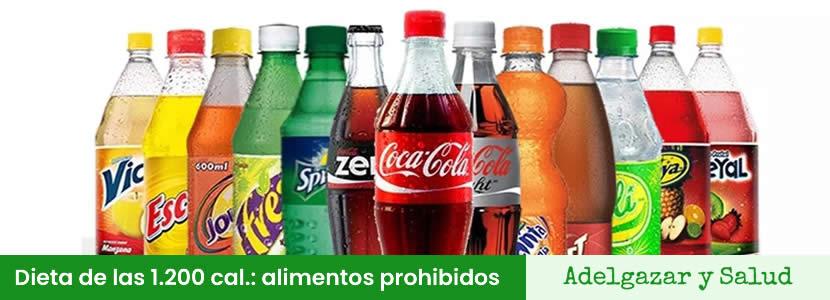 dieta de las 1200 calorias alimentos prohibidos