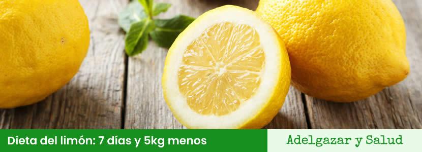dieta del limon adelgaza 5kilos en 1 semana
