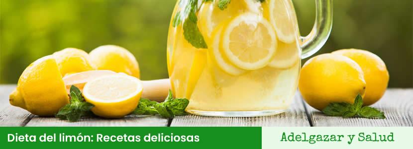 dieta del limon recetas