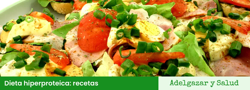 dietas hiperproteicas recetas