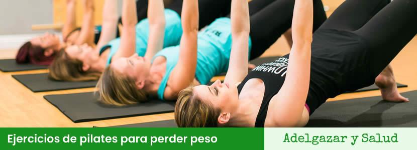 Ejercicios de pilates para perder peso