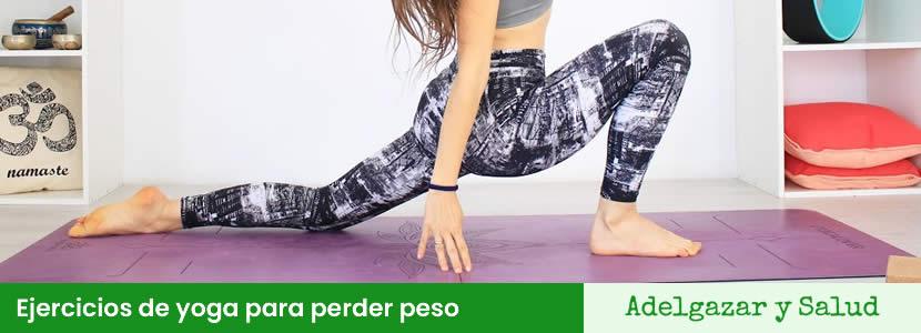 Ejercicios de yoga para perder peso