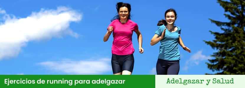 ejercicios running para adelgazar