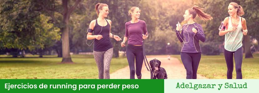 ejercicios running para perder peso