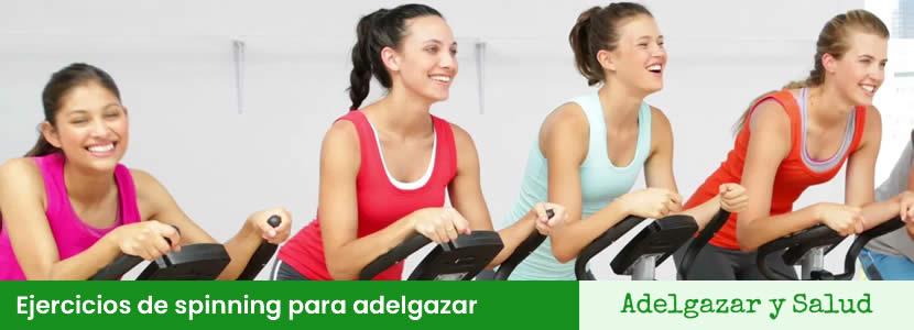ejercicios spinning para adelgazar