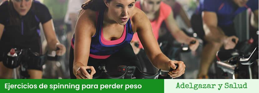 ejercicios spinning para perder peso