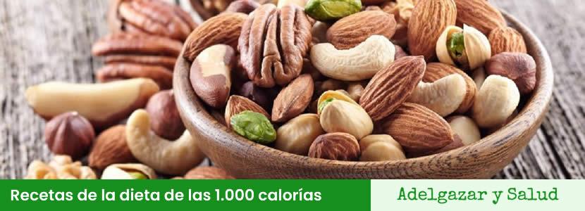 recetas de la dieta de las 1000 calorias