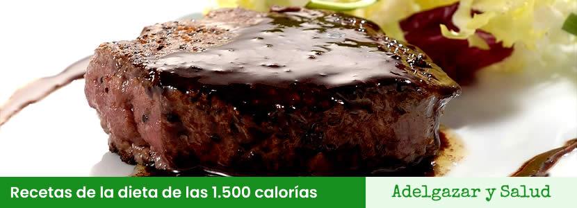 recetas de la dieta de las 1500 calorias