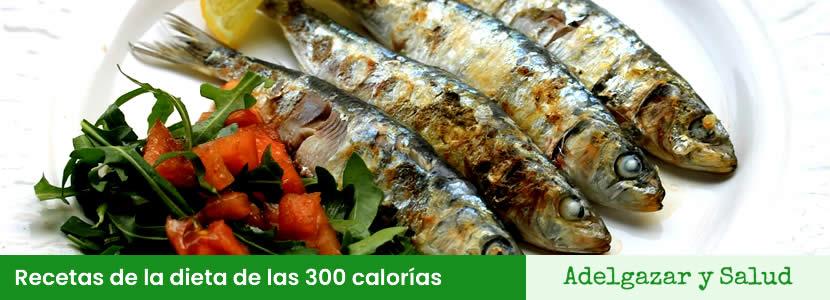 recetas de la dieta de las 300 calorias