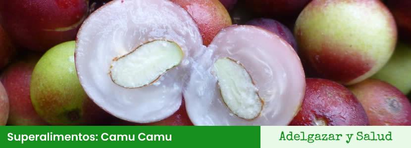 superalimentos Camu Camu