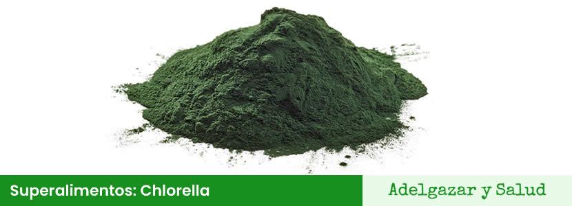Superalimentos chlorella