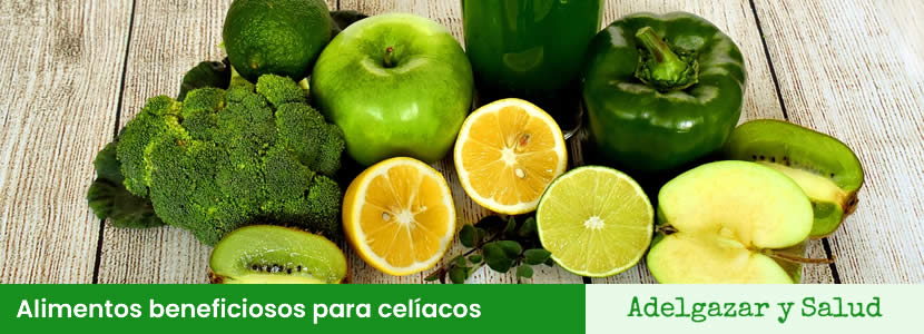Alimentos beneficiosos para celíacos
