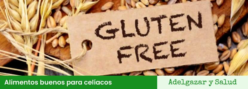 Alimentos buenos para celíacos