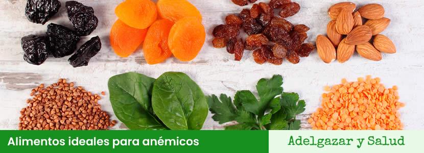 Alimentos ideales para anémicos