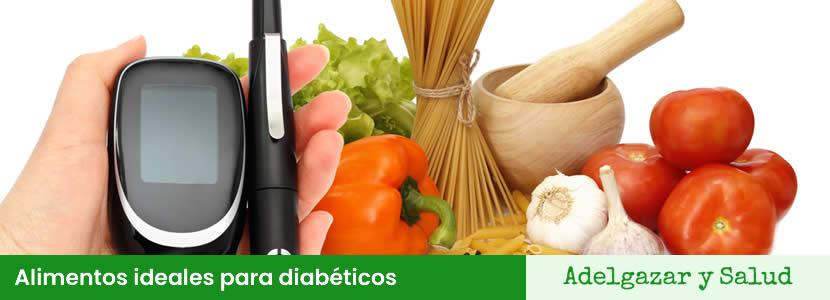 Alimentos ideales para diabéticos