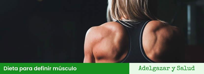 Dieta para definir músculo