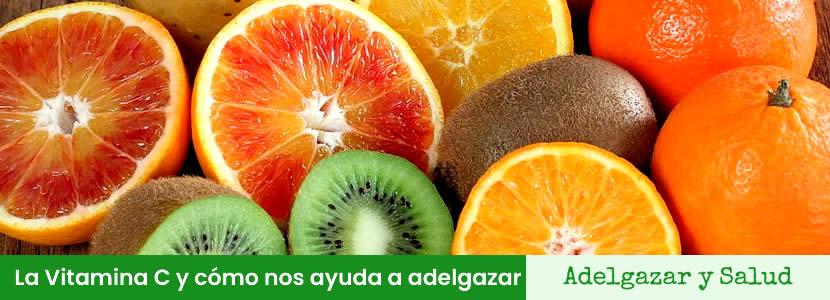 La Vitamina C y cómo nos ayuda a adelgazar