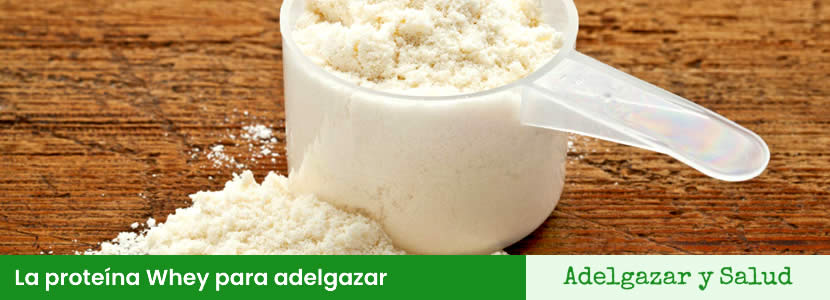 La proteína Whey para adelgazar