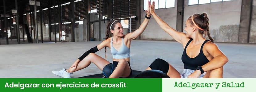 Adelgazar con ejercicios de crossfit