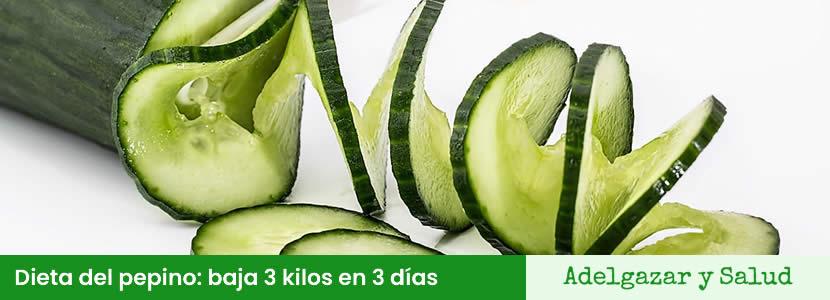 Dieta Del Pepino Menú Opiniones Y Recetas