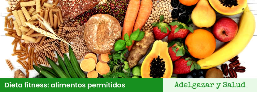 Dieta fitness alimentos permitidos