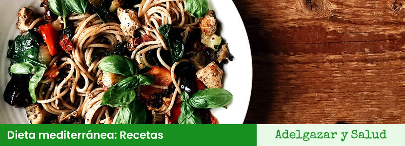 dieta mediterranea recetas