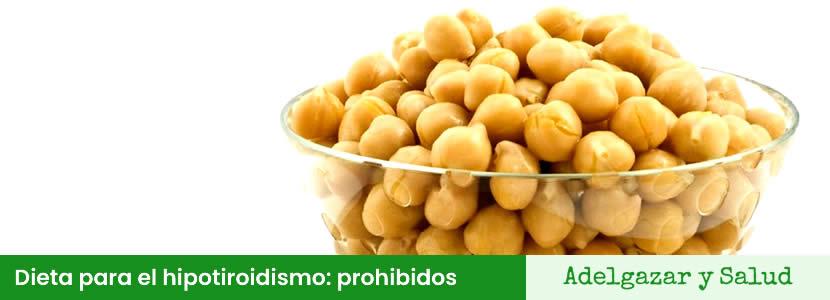 Dieta para el hipotiroidismo alimentos prohibidos