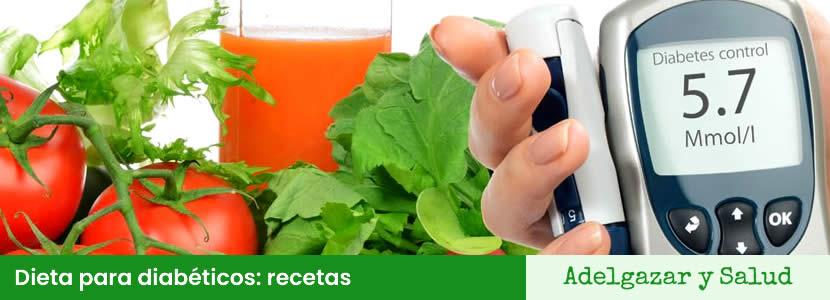 Dieta para la diabetes recetas